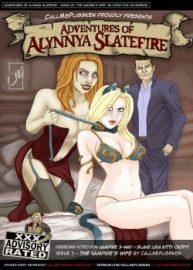 Cover Adventures Of Alynnya Slatefire 3
