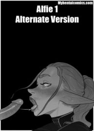 Cover Alfie 1 – Alternate Version