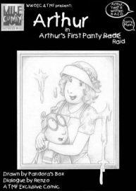 Cover Arthur's First Panty Raid