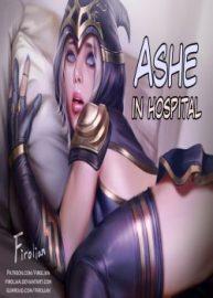 Cover Ashe In Hospital