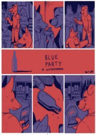 Cover Blue Party