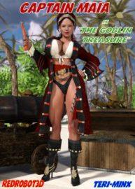 Cover Captain Maia & The Goblin Treasure