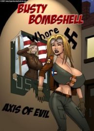 Cover Busty Bombshell – Axis Of Evil