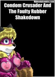 Cover Condom Crusader And The Faulty Rubber Shakedown