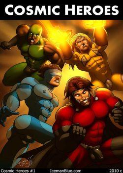 Cover Cosmic Heroes 1