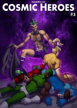 Cover Cosmic Heroes 3