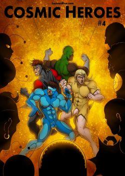 Cover Cosmic Heroes 4