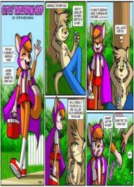 Cover Cute Lil' Purple Riding Hood