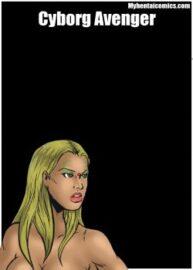 Cover Cyborg Avenger 1-3