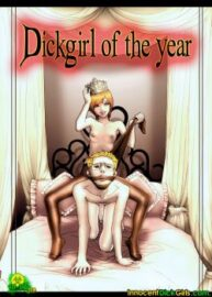 Cover Dickgirl Of The Year 2