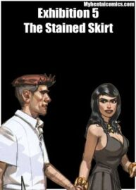 Cover Exhibition 5 – The Stained Skirt