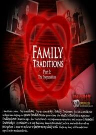 Cover Family Traditions 1 – The Preparation