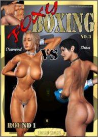 Cover Foxy Boxing 3 – Diamond Vs Shiva – Round 1