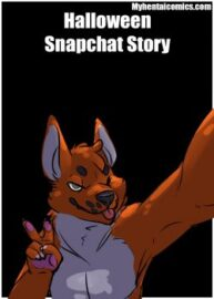 Cover Halloween Snapchat Story